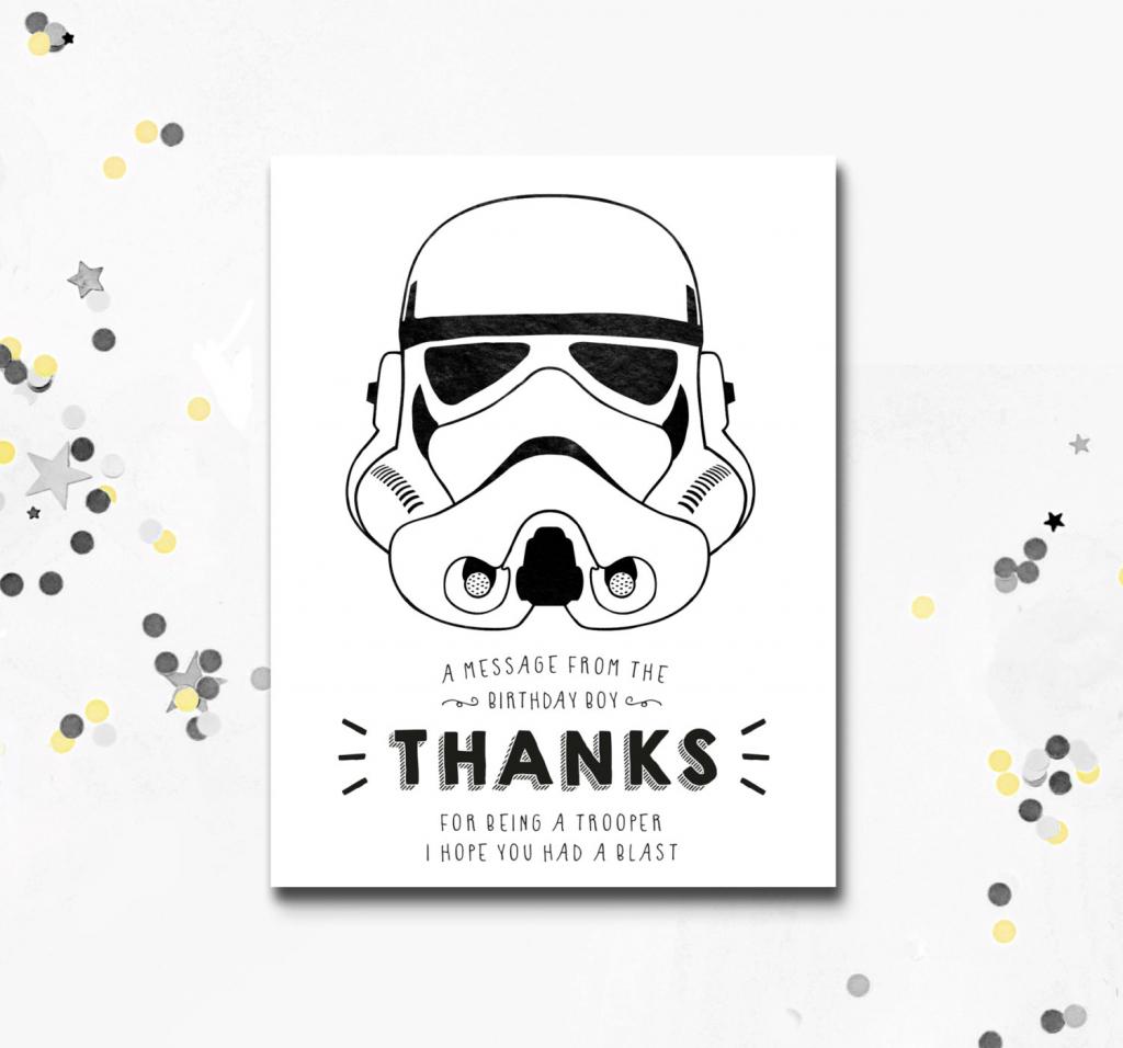 Collection Of Star Wars Printable Birthday Cards (32+ Images In | Star Wars Birthday Card Printable