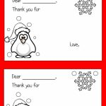 Color Your Own Printable Thank You Cards For Kids | Thrifty Thursday | Free Printable Color Your Own Cards