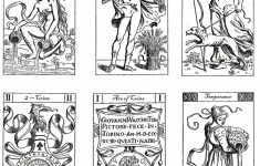 Color Your Own Tarot | Mythology And Old World Printables | Tarot | Free Printable Color Your Own Cards