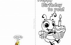 Coloring Pages ~ Astonishing Free Coloring Birthday Cards Printable | Printable Birthday Cards For Her