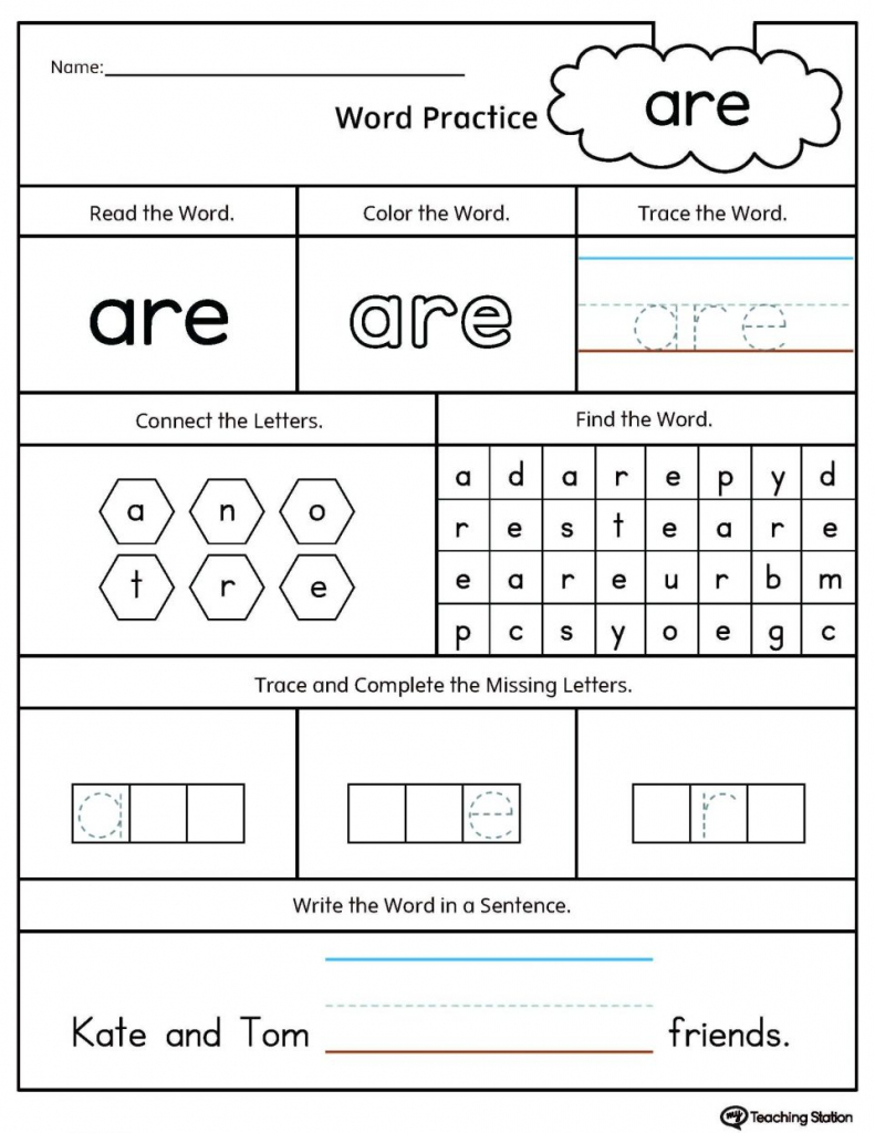 Coloring Pages ~ Coloring Pagesten Sight Words Printable Free | Kindergarten Sight Words Flash Cards Printable