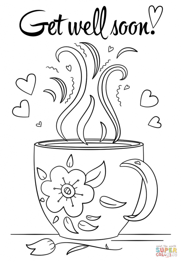 Coloring Pages ~ Fantastic Get Wellon Printable Coloring Pages Cards   Free Printable Get Well Soon Cards