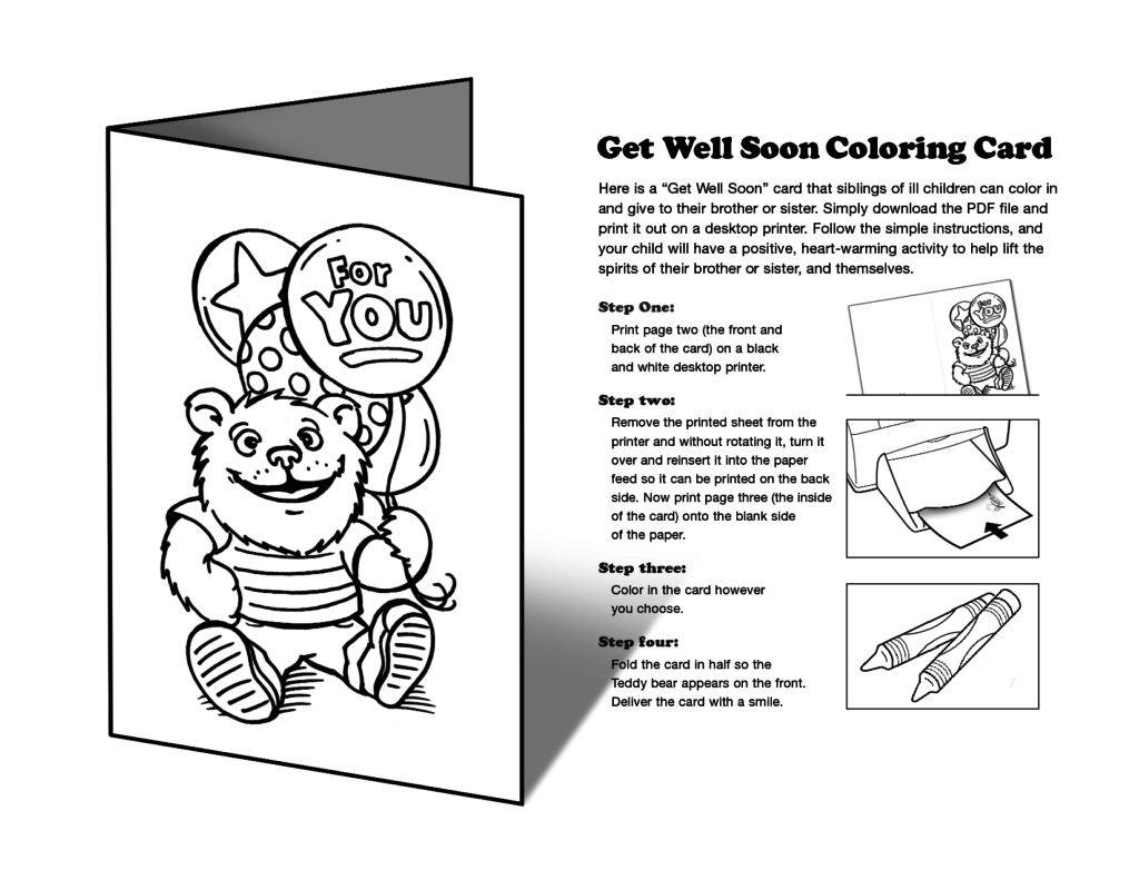 Coloring Pages ~ Get Well Soon Printable Coloring Pages Card Isla | Free Printable Get Well Cards