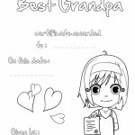 Coloring Pages ~ Greeting Card Coloring Pages Best Grandpa Printable   Grandparents Day Cards Printable