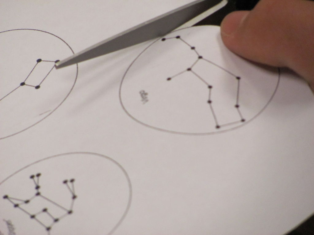 Constellation Projector (From A Coffee Cup): 5 Steps | Printable Constellation Projection Cards