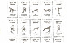 Cookie Jar Fitness Activity Cardsand Other Great Ideas When You | Printable Fitness Station Cards