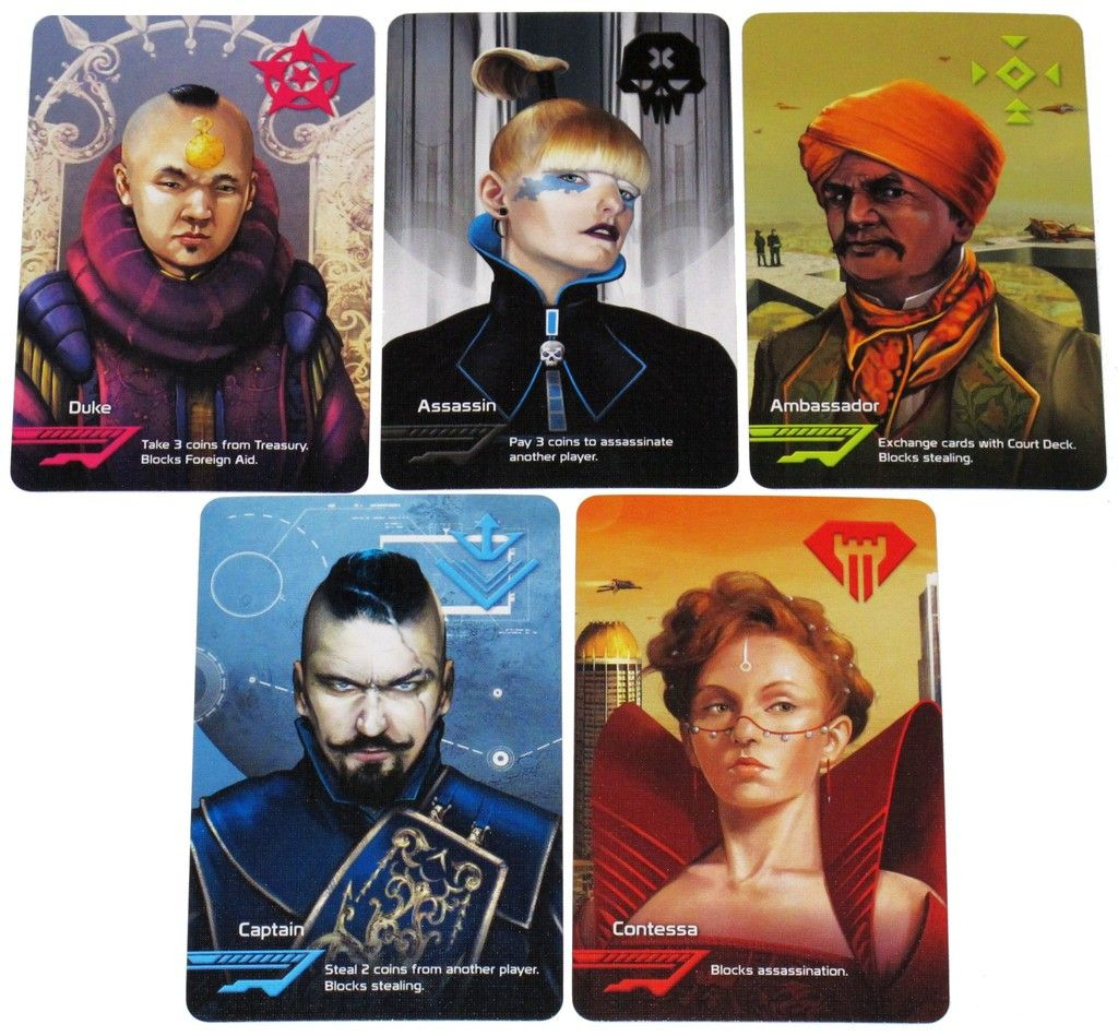 Coup | Image | Boardgamegeek | Cool Playing Cards And Cards | Game | Coup Card Game Printable