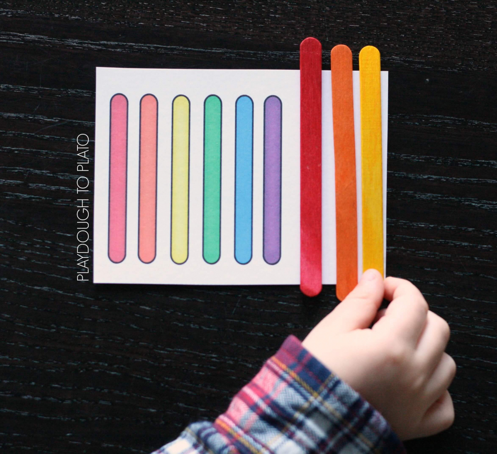 Craft Stick Patterns - Playdough To Plato | Popsicle Stick Pattern Cards Printable