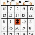 Crafty In Crosby: Free Printable Halloween Bingo Game | 25 Printable Halloween Bingo Cards