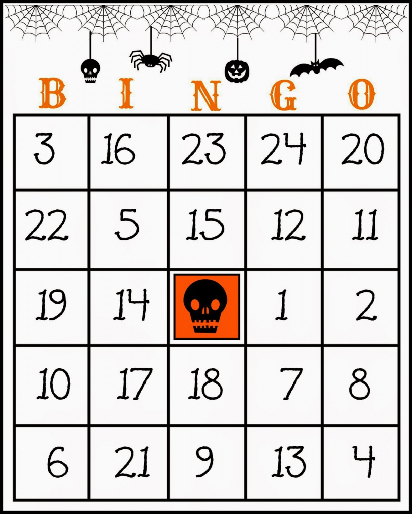 Crafty In Crosby: Free Printable Halloween Bingo Game | Free Printable Bingo Cards And Call Sheet