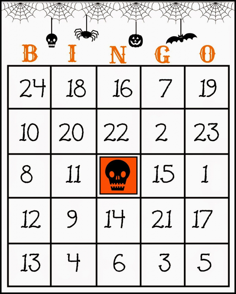 Crafty In Crosby: Free Printable Halloween Bingo Game | Halloween | Halloween Picture Bingo Cards Printable