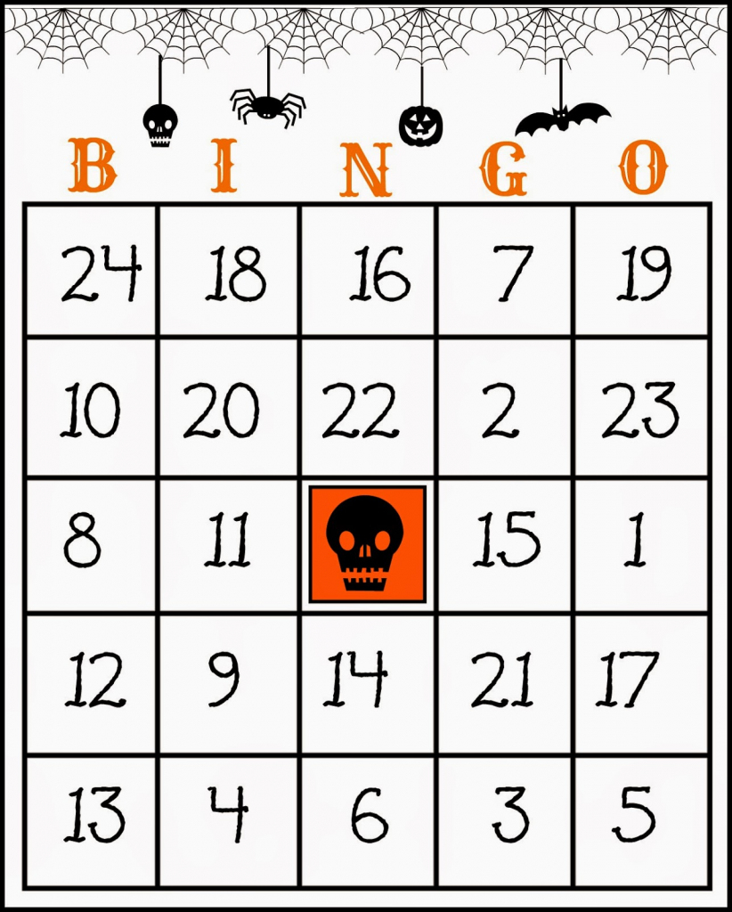 Crafty In Crosby: Free Printable Halloween Bingo Game | Printable Halloween Bingo Cards