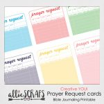 Creative You | Prayer Request Cards Printable | Printable Prayer Request Cards