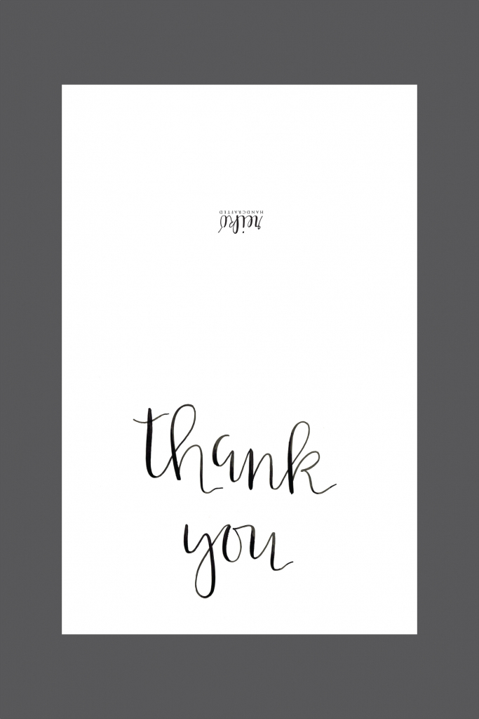 Custom, Specialty Sugar Cookies And Pastries :: Hot Hands Bakery | Free Printable Custom Thank You Cards