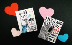 Homemade Valentine Cards Printable