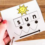 Cvc Cut & Paste Worksheets & Phonics Cards | Printable Cvc Word Cards