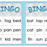 Cvc Words Bingo Worksheet   Free Esl Printable Worksheets Made | Printable Cvc Word Cards