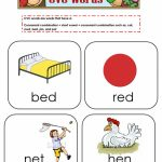 Cvc Words Flashcards Worksheet   Free Esl Printable Worksheets Made | Printable Cvc Word Cards