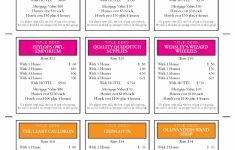 Printable Monopoly Property Cards