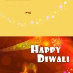 Diwali Diyas   Diwali Greeting Card For Kids | Mocomi | Printable Diwali Greeting Cards