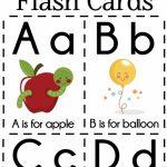 Diy Alphabet Flash Cards Free Printable | Alphabet Games | Printable Abc Flash Cards Preschoolers