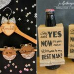 Diy | Free Printable Will You Be My Bridesmaid/best Man | Free Printable Will You Be My Maid Of Honor Card