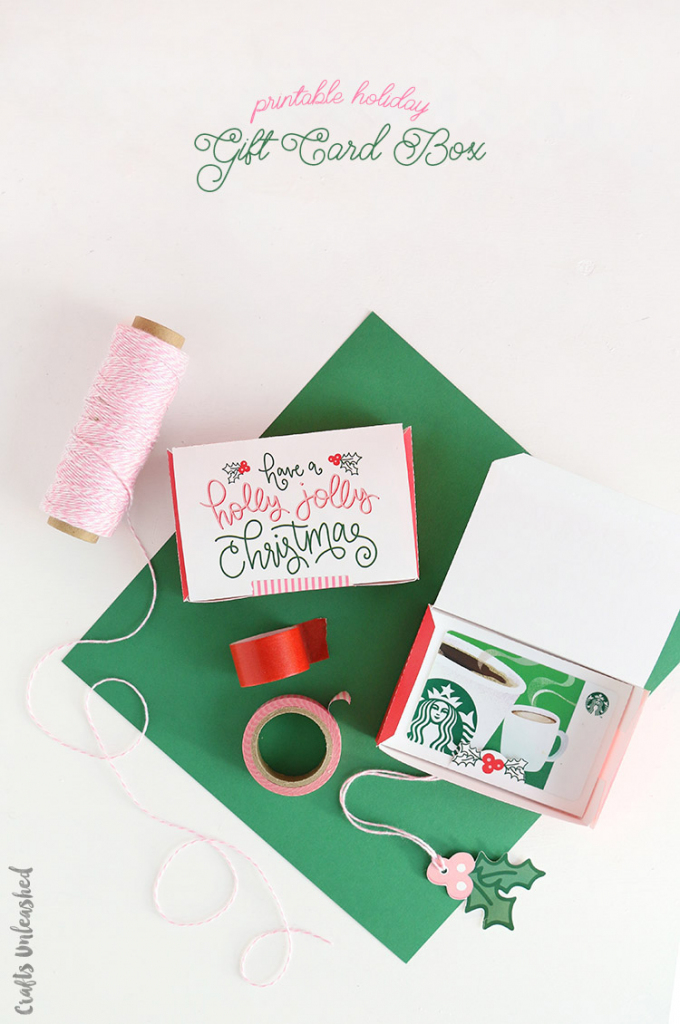 Diy Gift Card Boxes: Free Printable Template - Consumer Crafts | Gift Card Box Template Printable