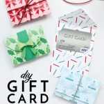 Diy Gift Card Holders (With Printable Template!) | The Homes I Have Made | Printable Gift Card Holder Birthday