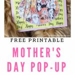 Diy Mother's Day Card | Dog Cards | Dogs, Goldendoodle, Dog Cards | Free Printable Mothers Day Card From Dog