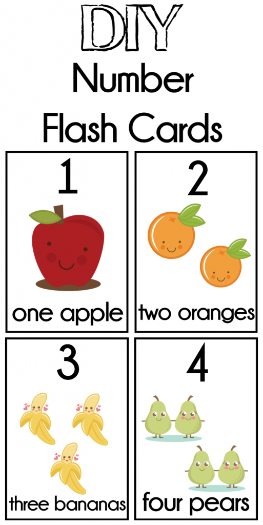 Diy Number Flash Cards Free Printable - Extreme Couponing Mom | Free Printable Number Cards