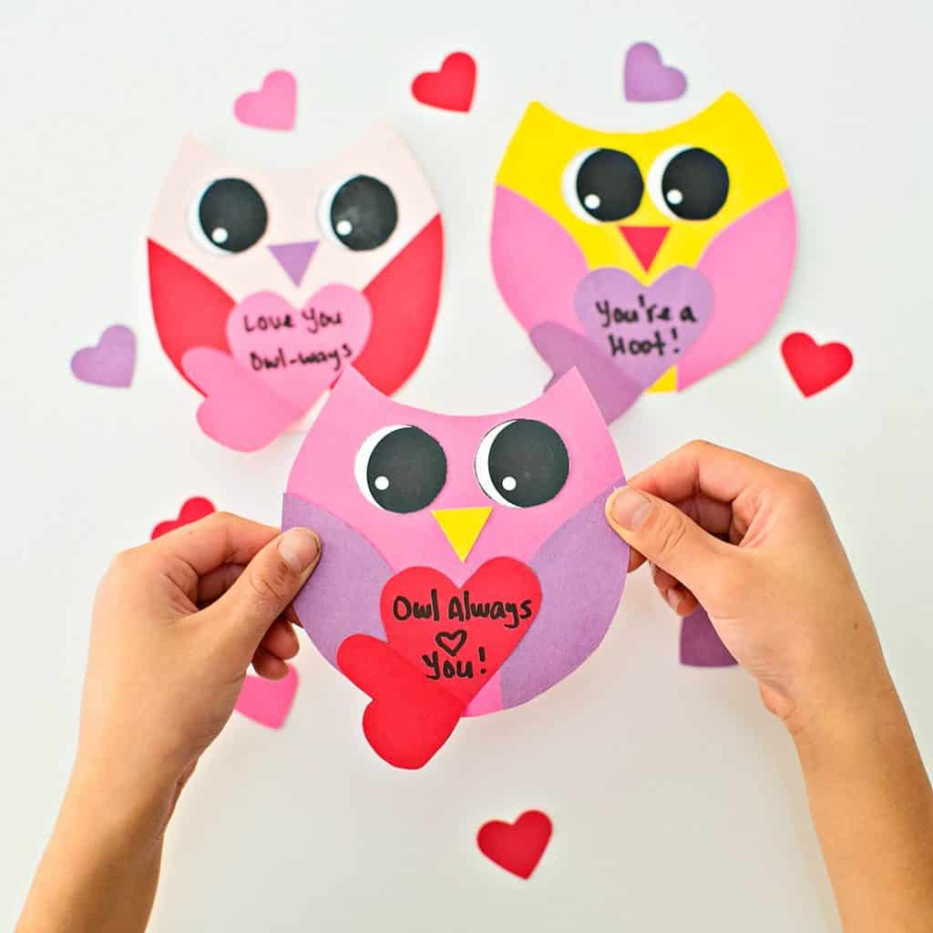 Diy Owl Valentine Card - Hello Wonderful | Free Printable Owl Valentine Cards