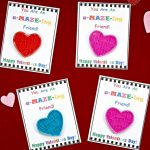 Diy Valentine's Day Cards For Kids With Free Printable!   Bullock's Buzz   Printable Valentines Day Cards For Best Friends