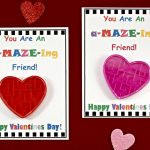 Diy Valentine's Day Cards For Kids With Free Printable!   Bullock's Buzz | Printable Valentines Day Cards For Best Friends