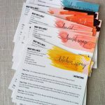 Diyproduct Recipe Cards | Aromatherapy | Essential Oils, Doterra | Free Printable Doterra Sample Cards