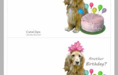 Printable Dog Birthday Cards