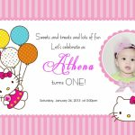 Download Free Template Hello Kitty Printable Birthday Invitations | Hello Kitty Birthday Card Printable Free