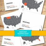 Download State Capital Flash Cards   Printable, Flashcards, Geography,  United States, Government, Flashcards, Elementary School, Study Guide | State Capitals Flash Cards Printable