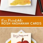 Download These Free Printable Rosh Hashanah Cards   These Fun Free | Rosh Hashanah Greeting Cards Printable
