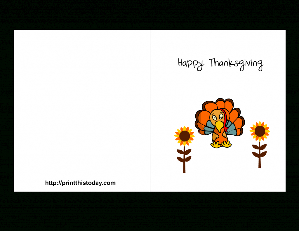 Downloadable Thanksgiving Cards - Canas.bergdorfbib.co | Printable Thanksgiving Cards For Kids
