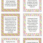 Easter Scavenger Hunt Ideas   Moms & Munchkins | Treasure Hunt Printable Clue Cards