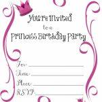 Einladung 14 Geburtstag Kostenlos | Geburtstag Einladung | Princess | 14Th Birthday Cards Printable