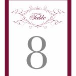 Elegant Monogram Free Printable Wedding Invitations | Freebies | Free Printable Wedding Cards