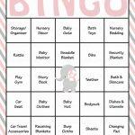 Elephant Baby Shower   Baby Bingo Cards   Printable Download   Baby | Free Printable Baby Shower Bingo Cards Pdf
