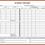 Employee Time Cards Template Free Awesome 5 Printable Payroll Sheets | Employee Time Card Template Printable