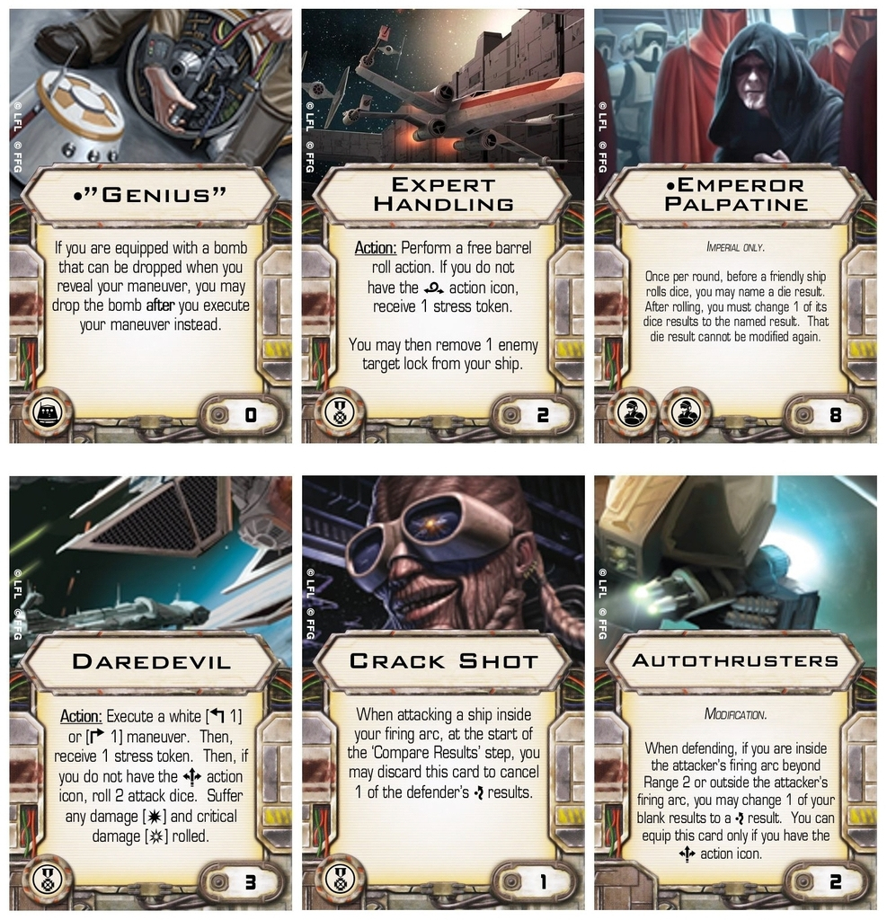 Errata Cards For Faq 4.4.1 - X-Wing - Ffg Community | X Wing Printable Cards