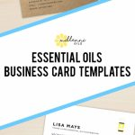 Essential Oil Business Cards, Young Living Essential Oils, Business | Free Printable Doterra Sample Cards