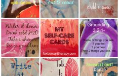 Self Care Cards Printable