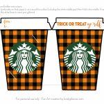 Fall Trick Or Treat Yo'self Starbucks Gift Card Holder Free | Printable Starbucks Gift Card