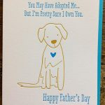 Father's Day Card From The Dog Card From Dog Humorousjdeluce | Free Printable Mothers Day Card From Dog