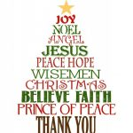 Favorite Christmas Gift: Thank You Cards | Cards   Thank You | Printable Christian Christmas Cards
